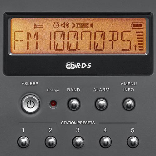 Amazon.com: Sangean PR-D15 FM-Stereo/AM Rechargeable Portable Radio ...