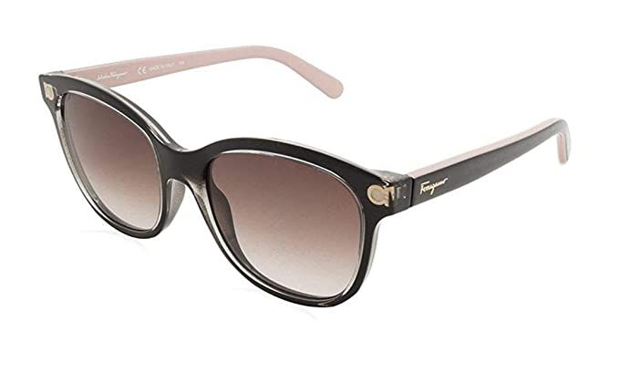 136e3529c0 Image Unavailable. Image not available for. Color  Sunglasses FERRAGAMO SF  834 S 001 CRYSTAL BLACK