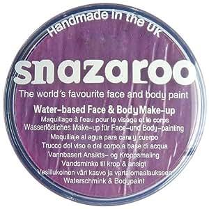 Snazaroo - Maquillaje al agua para cara y cuerpo (75 ml)- color lila