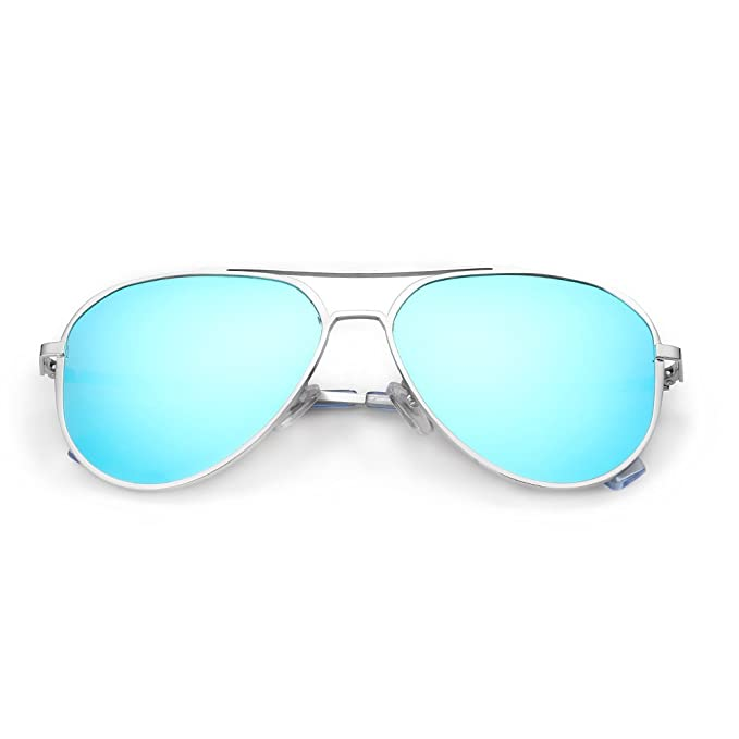Amazon.com: DONNA Gafas de sol unisex polarizadas con espejo ...