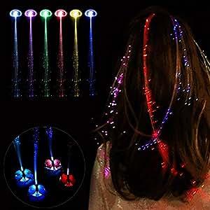 Amazon.com: Peluca de leoninge con luz LED que brilla en la ...