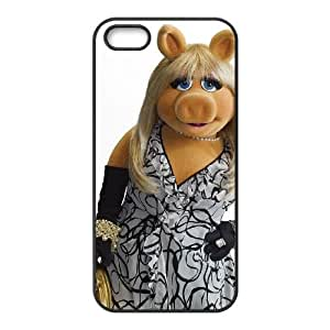 The Muppets Miss Piggy iPhone 4 4s Cell Phone Case Black O4504721