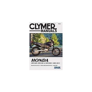 clymer honda crf230f (2003 2013) & crf230l & crf230m (2008 2009 led circuit diagrams clymer honda crf230f (2003 2013) & crf230l & crf230m (2008 2009
