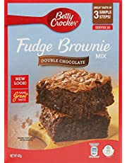 Betty Crocker Fudge Brownie Mix Double Chocolate, 430g