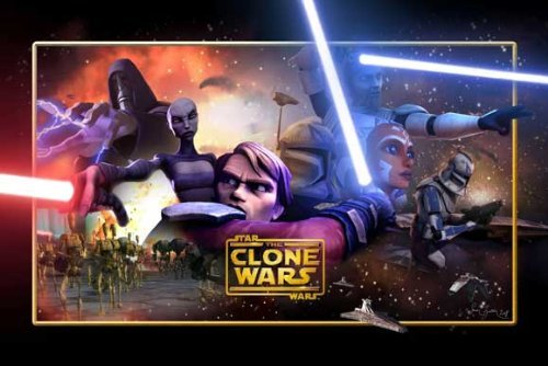 (Star Wars: The Clone Wars POSTER Movie (27 x 40 Inches - 69cm x 102cm) (2008) (Style B) )