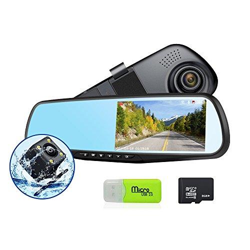 Mirror G Sensor Parking Monitor Recorder product image