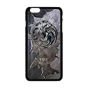 Cool Painting game of thrones duvar Phone Case for Iphone 6 Plus