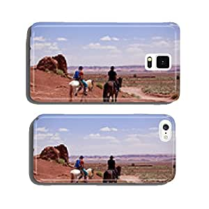 USA - horse riding in Monument valley cell phone cover case iPhone5