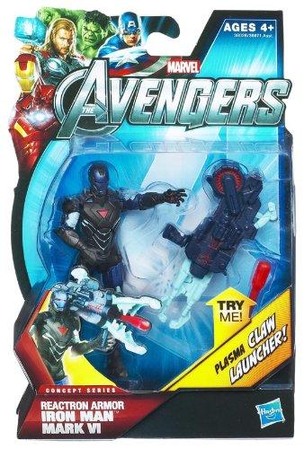 The-Avengers-2012-Movie-Series-Reactron-Armor-Iron-Man-Mark-VI-4-inch-Action-figure