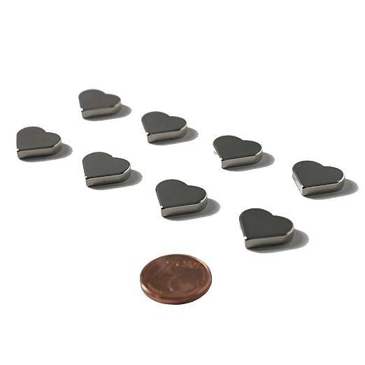 62 opinioni per HAB & GUT (MC000-H) 8 magneti ultrà potenti CUORE al neodimio, 15 x 3 mm