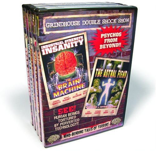 Grindhouse Sci-Fi Collection - Volume 1 (The Brain Machine / The Astral Fiend / The Day Time Ended / The Doomsday Machine / The Galaxy Invader / Kong Island / Star Odyssey / Prisoners of the Lost Universe / War of the Robots / It's Alive) (5-DVD)