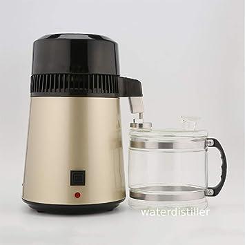 JIXIN 4L 750W Purificador De Agua Filtro De Destilación De Agua ...