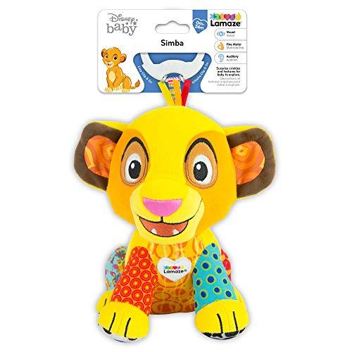 511RD18SBfL - Lamaze Disney Lion King Clip & Go, Simba Baby Toy
