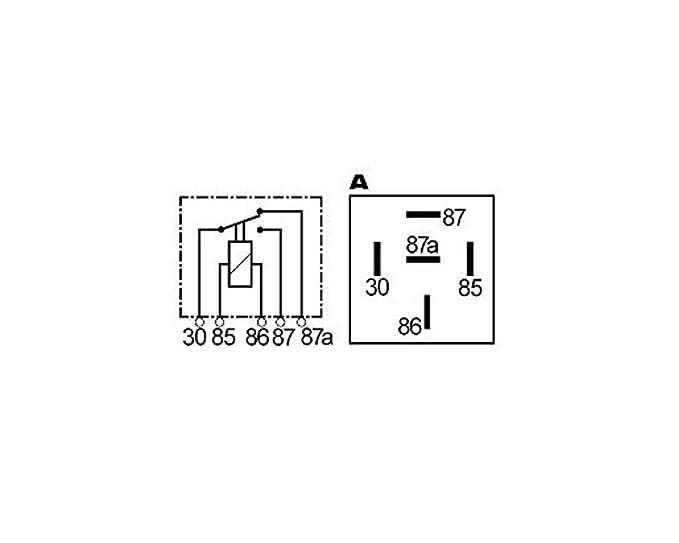 Wechsler Relais 12V-20/30A 30/85/86/87/87a: Amazon.de: Auto