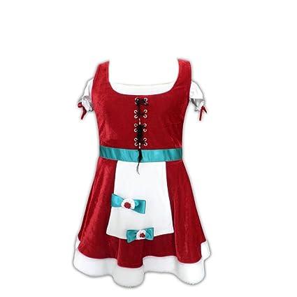 Dream2Reality - Disfraz de Navidad para mujer, talla 12 años ...