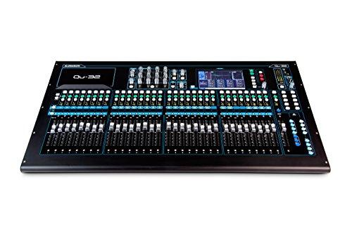Allen & Heath QU-32C 38 In/28 Out Compact Digital Mixer, Chrome Edition