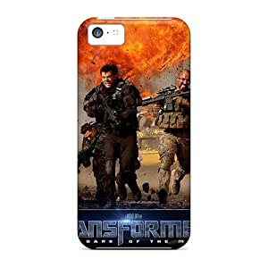 Sanp On Case Cover Protector For Iphone 5c (military In Transformers 3)