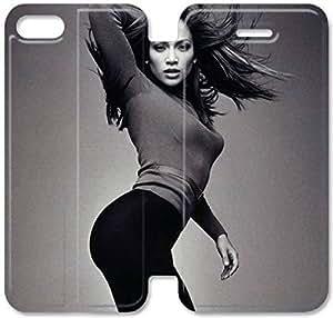 Jennifer López H6S74H4 iPhone 6 6S 4. Voltear Funda caso de cuero del caso funda P7H73K8 cuero del teléfono para los hombres duro
