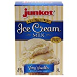 Junket Ice Cream Mix Vanilla (6 Pack)