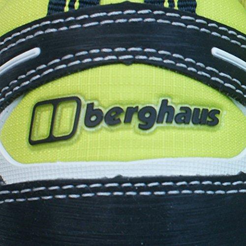 Berghaus Limpet Low GTX Tecnología Trail de Mujeres Entrenadores / Zapatos - Amarillo Yellow