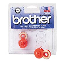 Brother Products - Brother - 3010 Compatible Lift-Off Correction Tape - Sold As 1 Pack - For use with Brother typewriters. - Make accurate, mess-free corrections. -