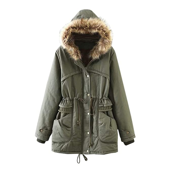 Amazon.com: Dimanul - Abrigos de invierno para mujer, cálido ...