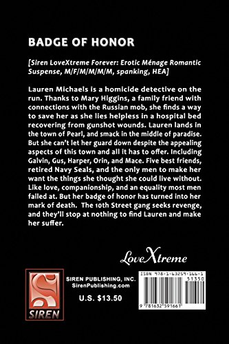 Badge of Honor [The Town of Pearl 9] (Siren Publishing LoveXtreme Forever)
