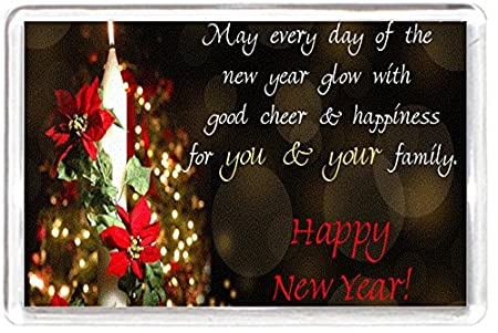 happy merry christmas candle new year glow quotes saying gift present novelty