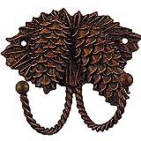 Sierra Lifestyles Decorative Hook, Pinecone, Rust