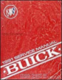 1991 Buick Park Avenue & Ultra Repair Shop Manual Original