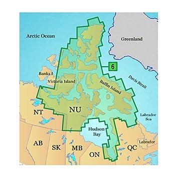 Dc For Garmin Topographic Map Canada Nunavut Amazon Co Uk Electronics