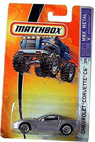 Matchbox Corvette C6 #20 TBX Metal 2006 (C6 Corvette Toy)