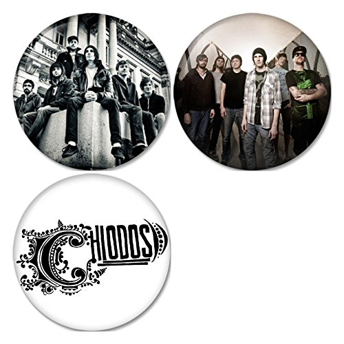 (Chiodos #1 Pinback Buttons Badges/Pin 1.25 Inch (32mm) Set of 3 New)