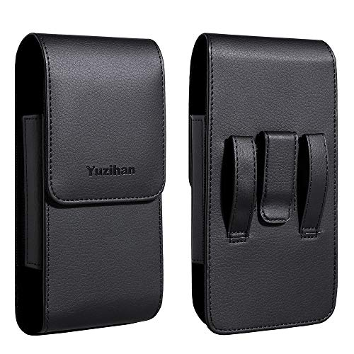 Yuzihan Holster Fit for iPhone 8 Plus 7 Plus 6 Plus Belt Holster Pouch 5.5