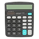 Calculator Caveen H1001 Standard Function Desktop Calculator Solar Power Powered Battery Digit Calculator Desktop Jumbo Large Buttons AA 1 1