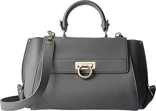 Salvatore Ferragamo Women's Sofia 21F606 Urban Grey Handbag