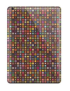 New Style Earurns Funky Tiny Squares Premium Tpu Cover Case For Ipad Air