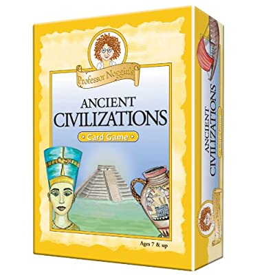 Professor Noggin's Ancient Civilizations, A Educational Trivia Based Card Game For Kids, Ages 7+: Toys & Games