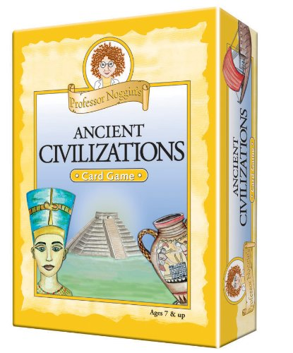 Professor Noggin's Ancient Civilizations - A Educational Trivia Based Card Game For Kids - Ages 7+ -