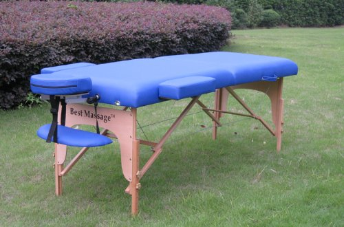 Best Portable Massage Table By Pad Blue BestMassage