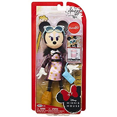 CGI Disney Minnie Mouse Sweet Latte Doll: Toys & Games