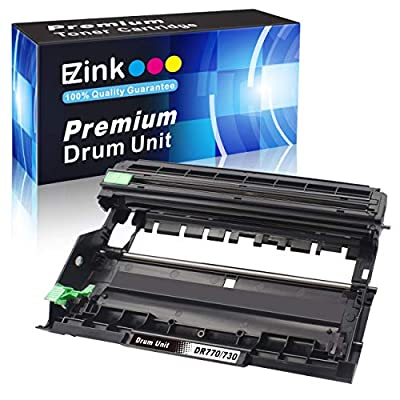 E-Z Ink (TM) Compatible Drum Unit Replacement for Brother DR730 DR 730 to use with HL-L2350DW HLL2395DW HLL2390DW HL-L2370DW HL-L2370DWXL MFC-L2750DW MFC-L2750DWXL MFC-L2710DW DCP-L2550DW (1 Pack)
