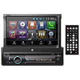 Kyпить Dual Electronics XDVD136BT Multimedia Retractable & Detachable 7-inch TFT Touchscreen Single DIN Car Stereo Receiver with Built-In Bluetooth, CD/DVD, USB, SD Card & MP3 Player на Amazon.com