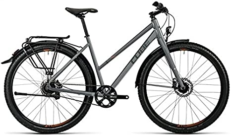 Cube Travel Pro 29R Trekking Bike 2016, color - grey black spicy ...
