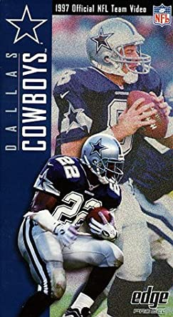 Amazon.com  1997 Dallas Cowboys Official NFL Team Video  VHS   NFL ... 09826f61e19