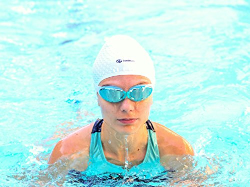 i-Swim Pro Swimming Caps /& FREE Nose Clip Ear Plugs Comfortable Stays In Place