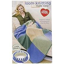Coats Crochet & Floss Clark Books, Loom Knitting Made Easy
