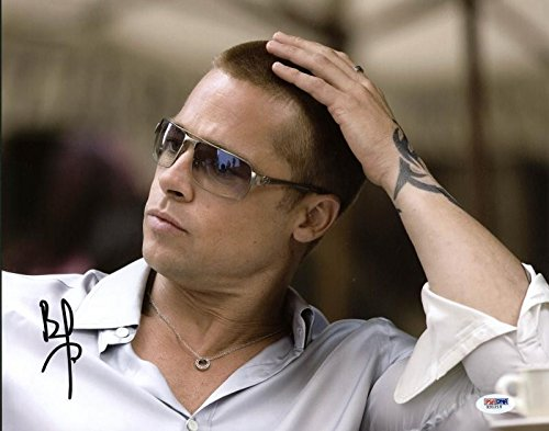 Brad Pitt Oceans Thirteen Autographed Signed Authentic 11x14 Photo - PSA/DNA Certified