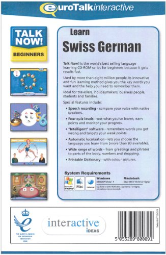 How to learn swiss german fast