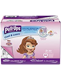 Cool & Learn Potty Training Pants for Girls, 3T-4T (32-40...